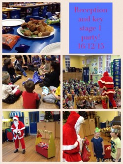 Reception and Key Stage  1 party day!