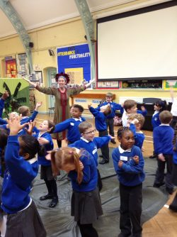 Year 1 language alive