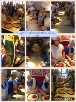 Year Five visit Pizza Express